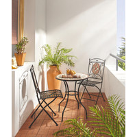 VRTNA GARNITURA - višebojno/crna, Lifestyle, metal/keramika (60/36/72/91/60/35cm) - Ambia Garden