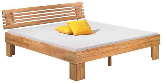 BETT  in Buchefarben - Buchefarben, Design, Holz (180/200cm) - Hasena