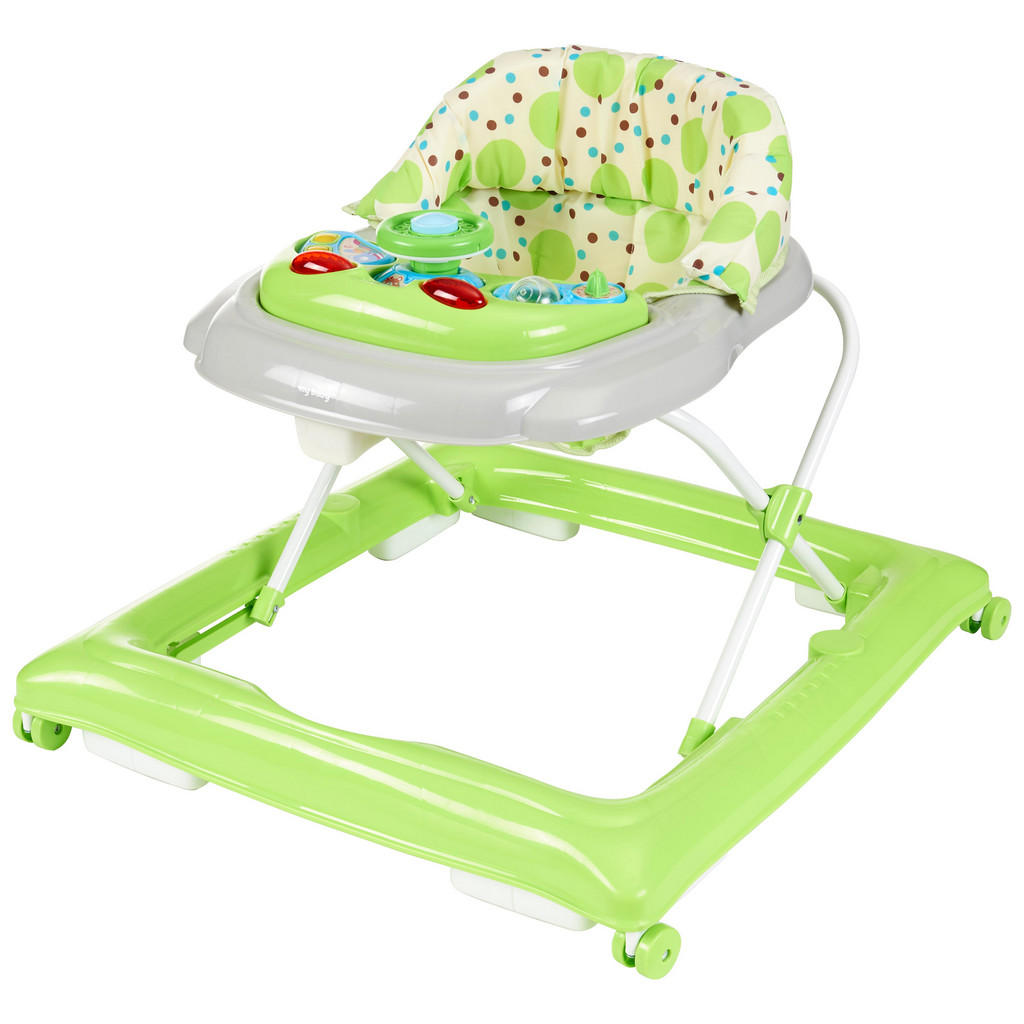 Chodítko - Vozík My Baby Lou - šedá zelená