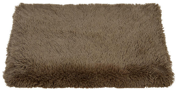Kuscheldecke Carina 150x200 cm - Taupe, MODERN, Textil (150/200cm) - Luca Bessoni