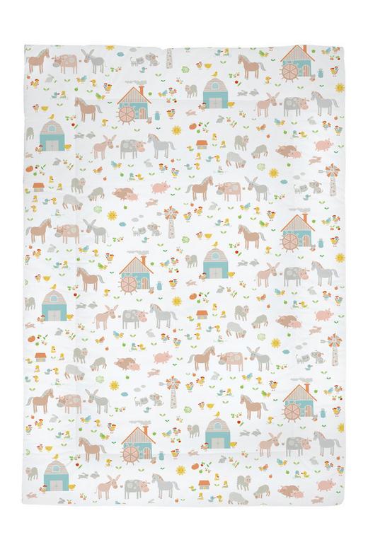 KRABBELDECKE - Multicolor, Basics, Textil (100/5/145cm) - My Baby Lou