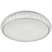 LED-DECKENLEUCHTE - Weiß, LIFESTYLE, Kunststoff/Metall (40/11cm) - Novel