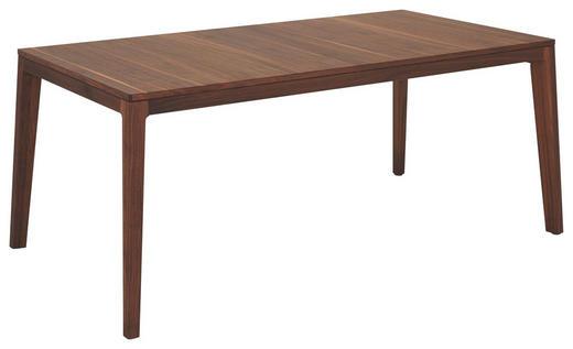 ESSTISCH in Holz 175/90/75 cm - Nussbaumfarben, Design, Holz (175/90/75cm) - Team 7