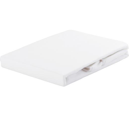 OCHRANNÝ POVLAK NA MATRACI, 180/200 cm,  - bílá, Basics, textil (180/200cm)