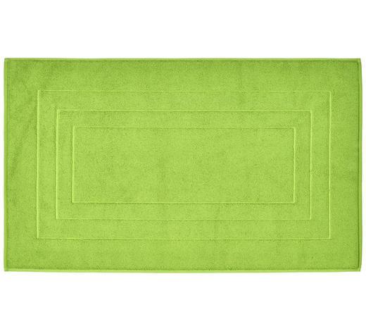 PŘEDLOŽKA KOUPELNOVÁ, 60/100 cm, světle zelená - světle zelená, Basics, textil (60/100cm) - Vossen