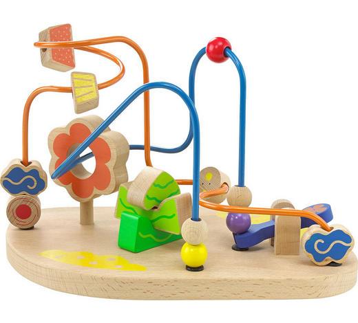 MOTORIKSPIEL - Multicolor, Natur, Holz (20/23,7/18,7cm) - My Baby Lou
