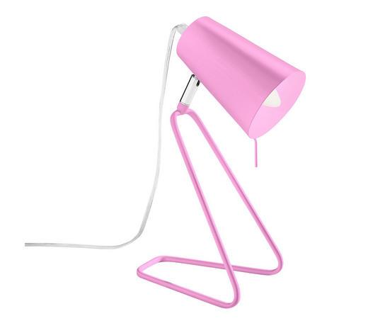 LAMPA STOLNÍ - pink, Design, kov (20/12/32cm) - Boxxx