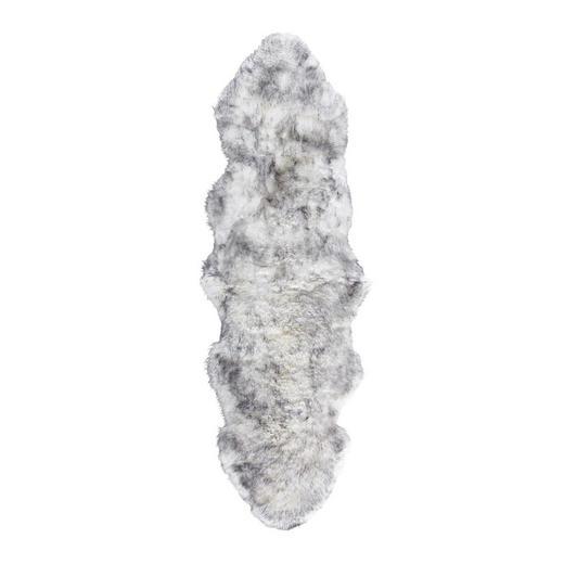 SCHAFFELL  60/180 cm  Grau - Grau, Basics, Leder/Textil (60/180cm) - Linea Natura