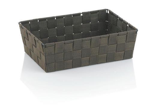 KORB - Braun, Basics, Textil (29,5/20,5/8,5cm)