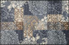 FUßMATTE 115/175 cm Graphik Grau - Grau, Kunststoff/Textil (115/175cm) - Esposa