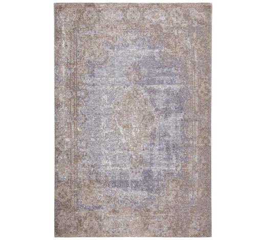 VINTAGE-TEPPICH  200/290 cm  Blau, Beige   - Blau/Beige, Textil (200/290cm) - Novel