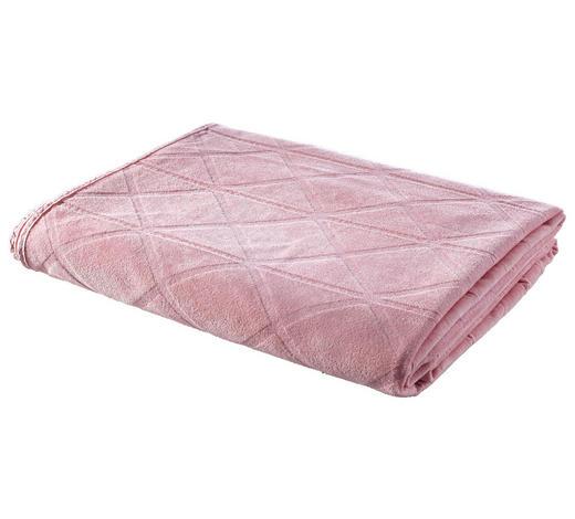 DECKE 140/200 cm Rosa  - Rosa, Design, Textil (140/200cm) - Ambiente