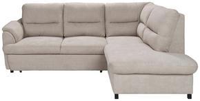 SOFFA - wengefärgad/grå, Design, trä/textil (240/200cm) - Carryhome
