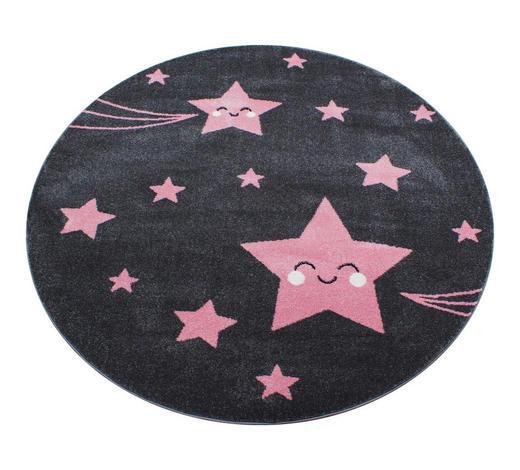KINDERTEPPICH - Pink/Dunkelgrau, Trend, Textil (120cm) - Ben'n'jen