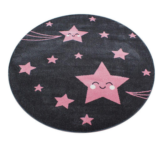 KINDERTEPPICH - Pink/Grau, Trend, Textil (160cm) - Ben'n'jen
