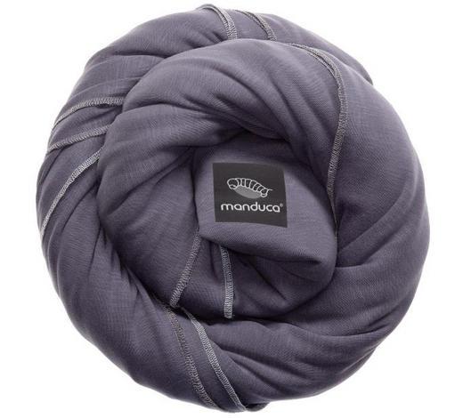 TRAGETUCH Sling - Grau, Trend, Textil (60/510cm) - Wickelkinder Manduca