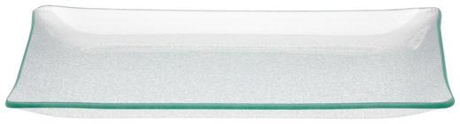 SERVIERPLATTE - Transparent, Design, Glas (30/2,5/20cm) - Homeware