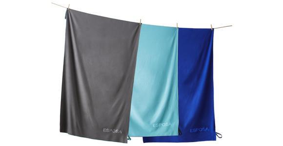 STRANDTUCH 100/180 cm Anthrazit  - Anthrazit, KONVENTIONELL, Textil (100/180cm) - Esposa