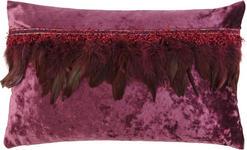ZIERKISSEN 30/50 cm  - Lila, Design, Textil (30/50cm) - Ambiente
