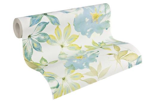 vliestapete im floral design 10,05 m - Beige/Hellgelb, LIFESTYLE, Textil (53/1005cm) - Esprit
