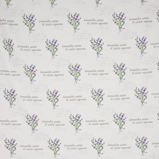 DEKOSTOFF per lfm blickdicht - Lila, LIFESTYLE, Textil (160cm) - Landscape