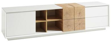 LOWBOARD 180/45/40 cm  - Eichefarben/Weiß, Design, Holzwerkstoff (180/45/40cm) - Xora