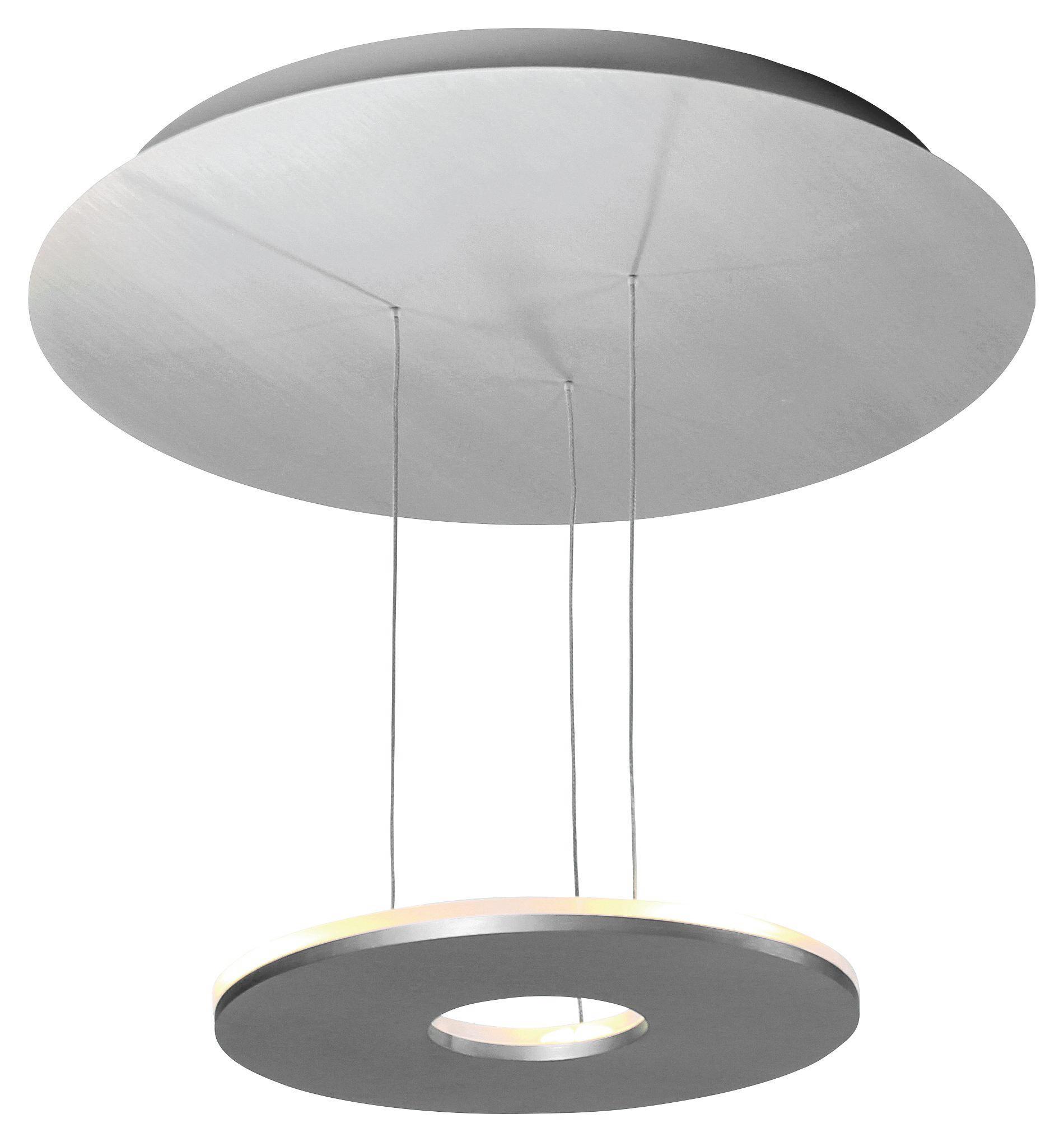 DECKENLEUCHTE - Alufarben, LIFESTYLE, Metall (55/55/25cm)