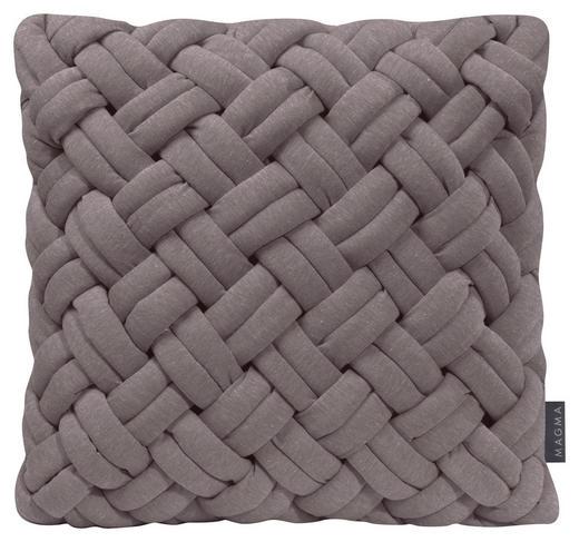 KISSENHÜLLE Dunkelgrau - Dunkelgrau, Textil (40/40cm)
