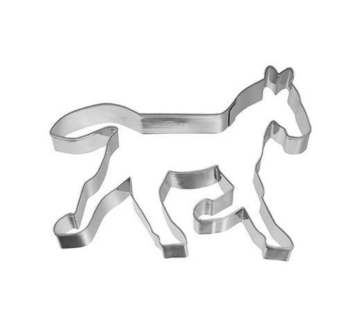 KEKSAUSSTECHFORM - Edelstahlfarben, Basics, Metall (11/2,5/11cm) - Birkmann
