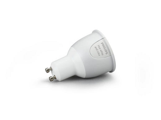HUE WHITE & COLOR AMBIANCE LED  GU10 6,5 W - Weiß, Design, Kunststoff (5,0/7,1/5,0cm) - Philips