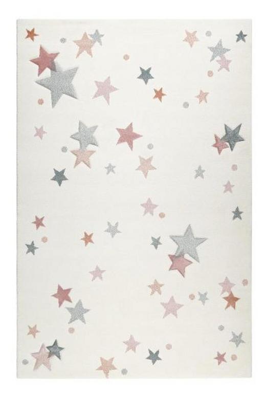 KINDERTEPPICH  80/150 cm  Hellblau, Hellrosa, Weiß - Hellrosa/Weiß, Textil (80/150cm) - Esprit