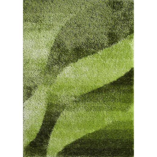 HOCHFLORTEPPICH - Grün, KONVENTIONELL, Textil (120/170/cm) - Novel