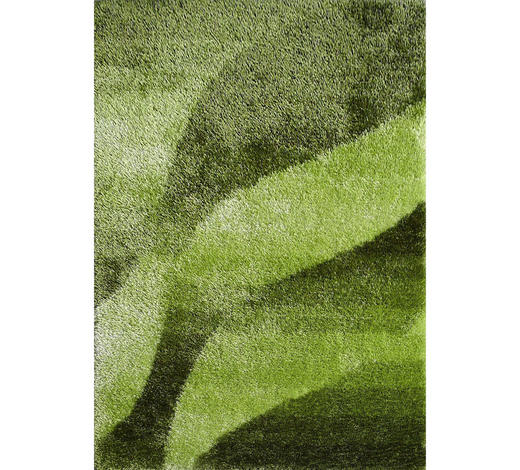 HOCHFLORTEPPICH - Grün, KONVENTIONELL, Textil (130/190cm) - Novel