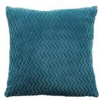 Zierkissen Talisha - Petrol, MODERN, Textil (40/40cm) - Luca Bessoni