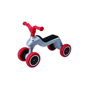 Big Rider BIG - Rot/Silberfarben, Basics, Kunststoff (22/28/55cm) - BIG