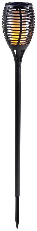 SOLARNA SVETILKA - črna, Basics, umetna masa (12/103cm)