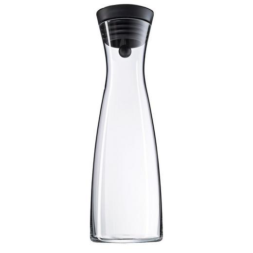 WASSERKARAFFE 1,5 L - Schwarz, Basics, Glas/Kunststoff (32,7cm) - WMF