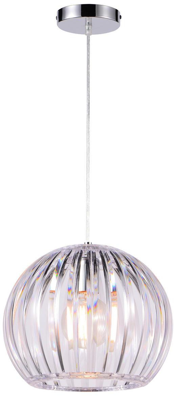 Hängeleuchte - Transparent, Trend, Kunststoff (30,5/150cm) - Boxxx