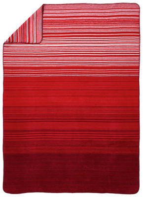 PLÄD - vit/röd, Klassisk, textil (150/200cm) - Novel