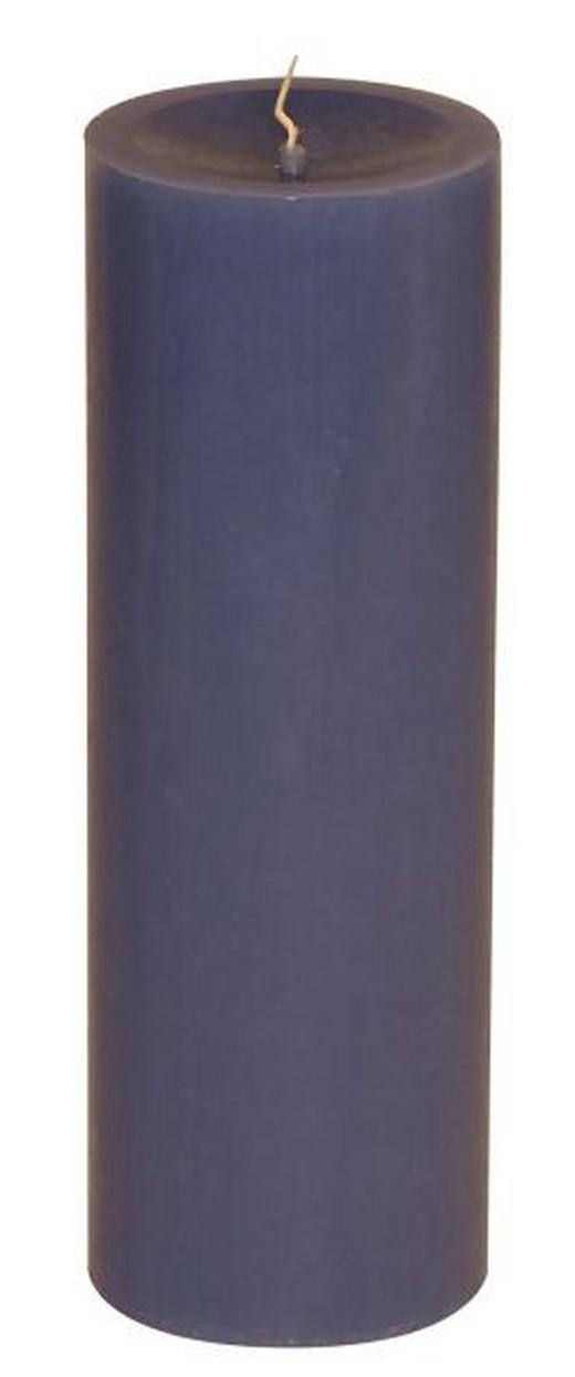 STUMPENKERZE 6,7/20 cm - Dunkelblau, Basics (6,7/20cm) - Steinhart