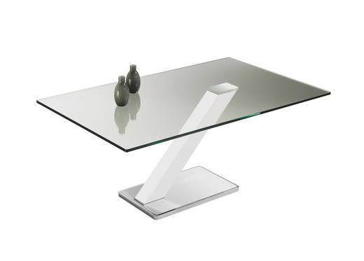 COUCHTISCH rechteckig - Design, Glas/Metall (110/46/70cm) - Novel