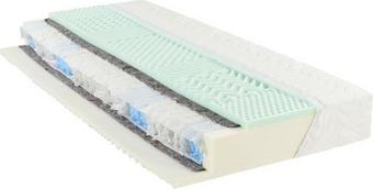 MATRACE - bílá, textil (90/200cm) - SLEEPTEX