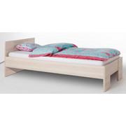 POSTELJA 90 cm   x 200 cm  , leseni material jesen  - jesen, Design, leseni material/les (207/127,4/69,7cm) - Xora