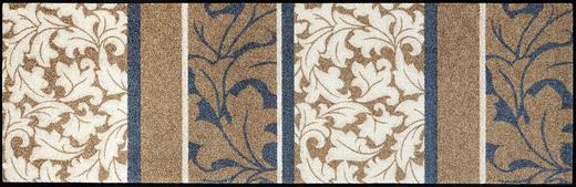 FUßMATTE 60/180 cm Graphik Beige, Braun - Beige/Braun, Basics, Kunststoff/Textil (60/180cm) - Esposa
