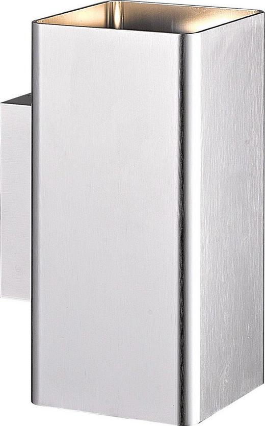 AUßENLEUCHTE Alufarben - Alufarben, Design, Metall (10/16cm)