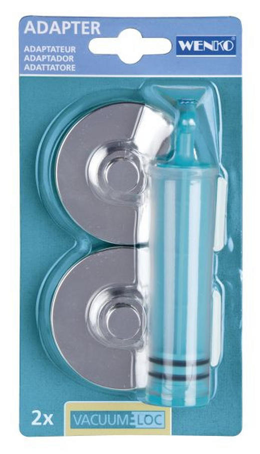 MONTERINGSSKIVOR - kromfärg, Basics, plast (6,1/2,8cm)