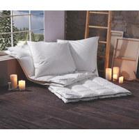 KASSETTENDECKE  155/220 cm   - Weiß, Basics, Textil (155/220cm) - Sleeptex