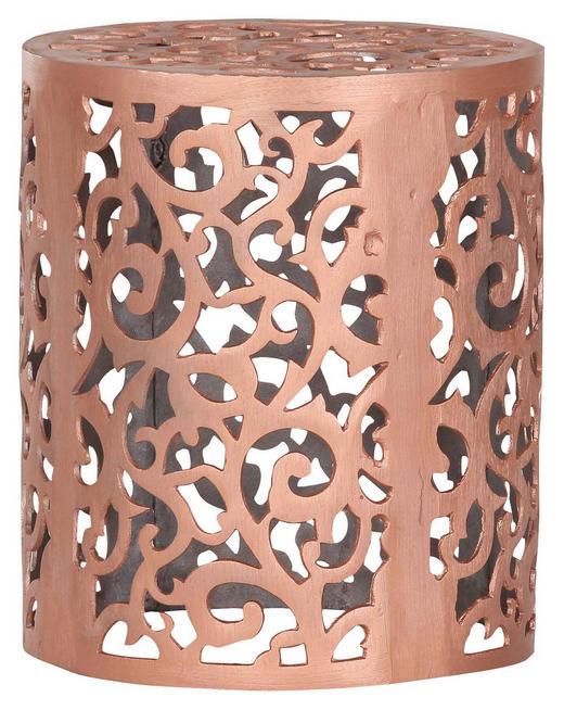 BEISTELLTISCH Kupferfarben - Kupferfarben, Design, Metall (37/44cm) - Carryhome