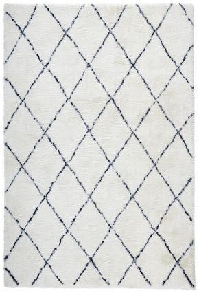 RYAMATTA - blå/grå, Klassisk, textil (160/230cm) - Novel