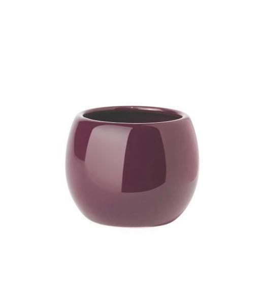 MUNDSPÜLBECHER Keramik - Lila, Basics, Keramik (9/7.5cm)